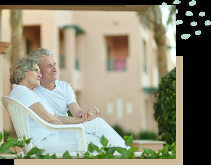 picto couple chaise per investissement financier