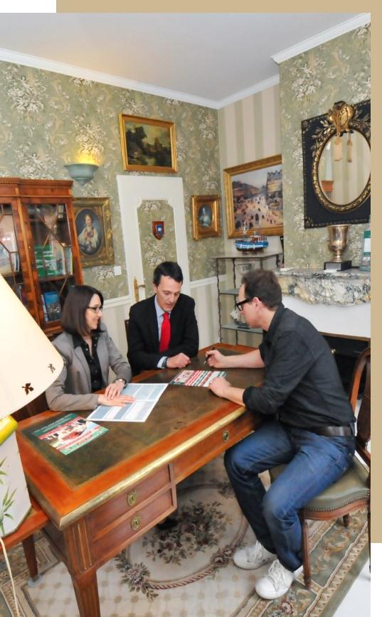 Membres Yassonowski en réunion client