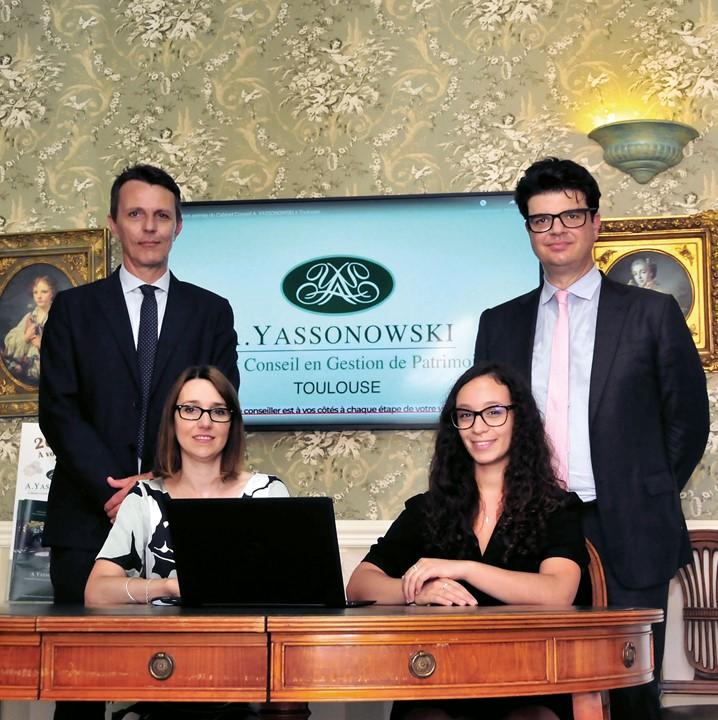 photo officielle des membres du groupe Yassonowski