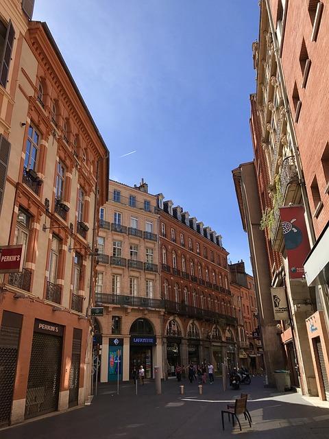 Photo d'une rue de Toulouse